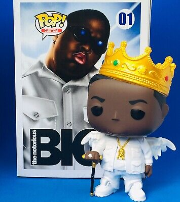 Funko Pop Notorious Big Rip Custom Chase Hip Hop