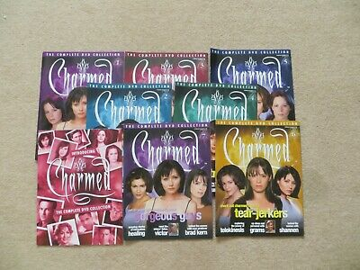 Charmed The Complete DVD Collection Magazine #1 to #7 Plus Introducing Booklet