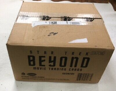 Star Trek Beyond Movie Trading Cards Sealed Case, 12 Boxes, 24 Autographs