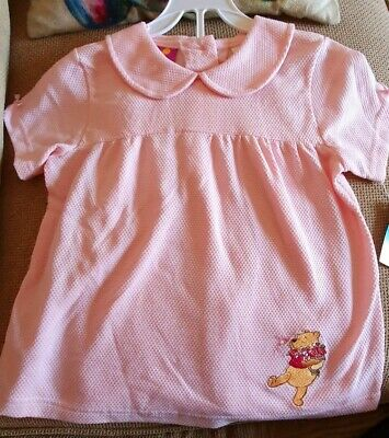 BNWT Winnie The Pooh Girls outfit Top And Shorts Age 6 Years NEW