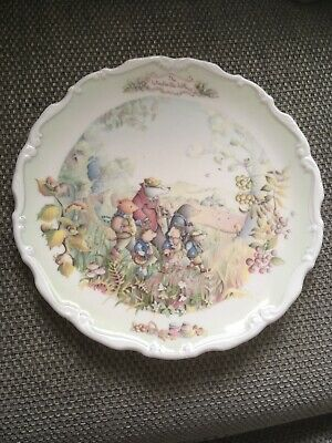 Royal Albert Bone China 'Wind in the Willows ' Collectors Plates x 3.