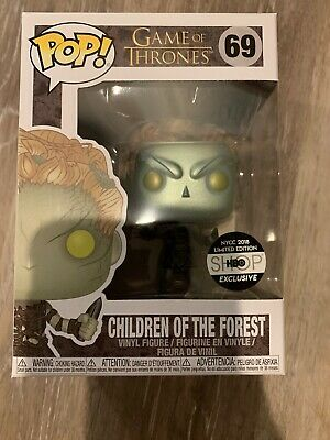 Funko POP! Game of Thrones: Children of the Forest METALLIC HBO NYCC Exclusive