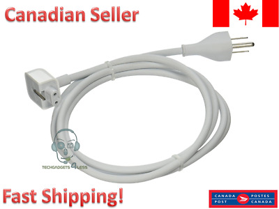 Replacement APPLE AC Power Adapter Extension Cable cord for macbook pro charger
