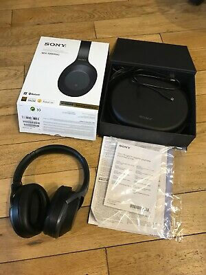 Sony WH-1000XM2 Wireless Noise Cancelling Headphones  Black