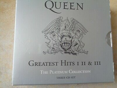 Queen – Greatest Hits I II & III (The Platinum Collection) - 3 x cd box set