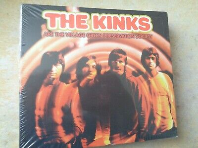 The Kinks Are The Village Green Preservation Society new sealed 3 x cd set