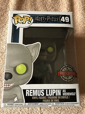 Remus Lupin As Werewolf Funko Pop Vinyl Figure #49 Harry Potter