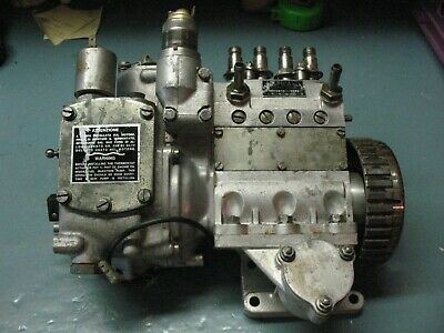 Alfa  Romeo  Spica  Fuel  Injection  Pump  T 255    2.0  L   Engine