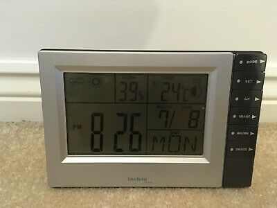 Technoline WS9121 Weather Station and Alarm Clock