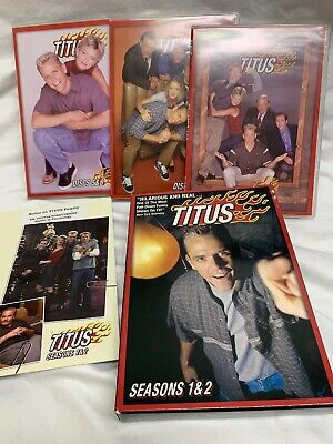 Christopher Titus Seasons 1 and 2 Complete DVD Set Excellent Preowned Condition