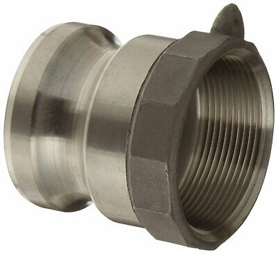 Dixon 100-A-SS Stainless Steel 316 Boss-Lock Type A Cam and Groove Hose Fitting,