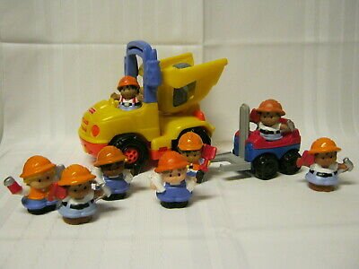Fisher Price Little People Construction Lot w/Dump Truck
