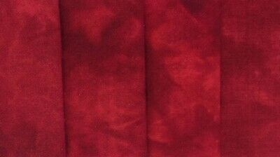 """""""Redwork Red"""" dyed rug hooking wool fabric - (1) Fat Quarter 100% Wool"""