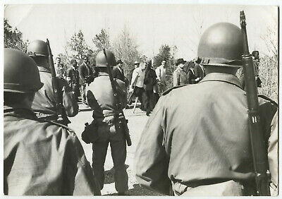 Paul CONKLIN: Civil Rights, Selma, 1965 / PIX Agency / PC-22 / VINTAGE / STAMPED