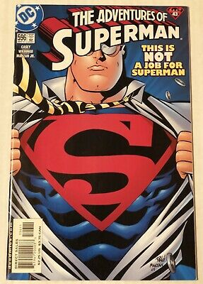 Adventures Of Superman #596 Dc Comics Key 9/11 Twin Towers Recalled Edition