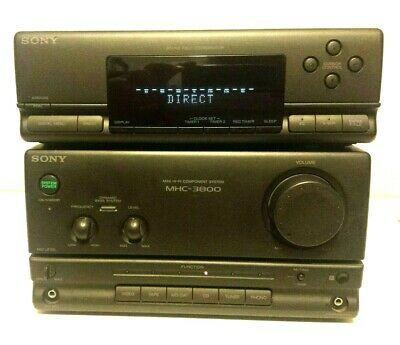 Sony MHC-3800 amplifier with instructions