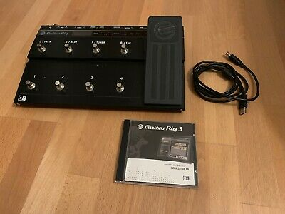 Native Instruments Rig Kontrol 3 USB Audiointerface & Pedalboard plus Software