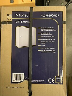 Rittal Fibreglass Wall-mount Enclosure BNIB