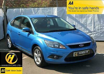 Ford Focus 1.6 ( 100ps ) 2010 Zetec, Low Mileage Only 60,280, Immaculate