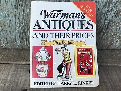 Vintage Warman's Antiques and Their Prices 23rd Edition