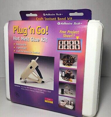 Adhesive Tech Plug and Go Hot Melt Glue Gun New Other Condition Never Used