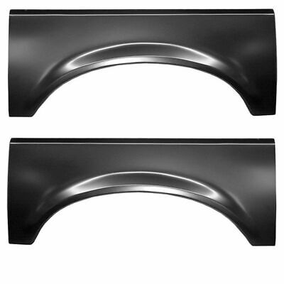 87-96 Ford Bronco Ford F-Series Pickup wheel arch without door lip driver side