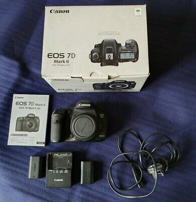 Canon EOS 7D Mark II DSLR Camera Body (Bundle) Low Shutter count