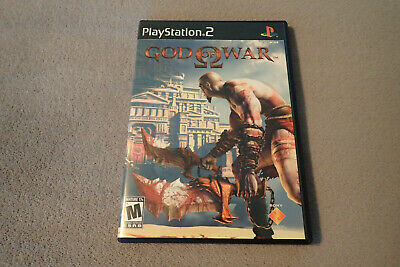 God of War Sony PlayStation 2 PS2 Complete in Box with Manual CIB Black Label