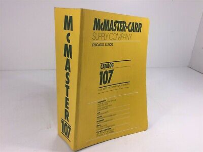 McMaster-Carr Supply Company Catalog Number 107 Chicago, IL 2001