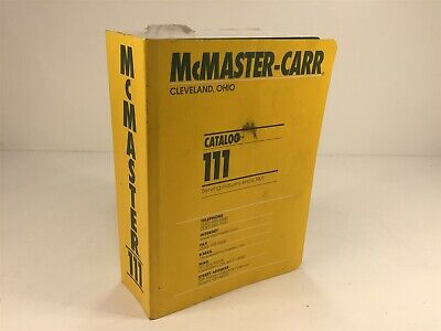 McMaster-Carr Supply Company Catalog Number 111 Cleveland, OH 2005