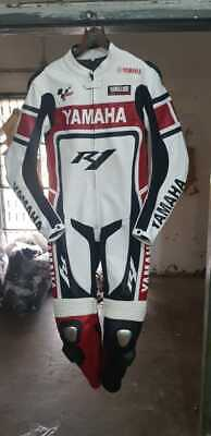 New Yamaha Motorbike Suit Motorcycle Leather Racing Sports Riding CE Armoured