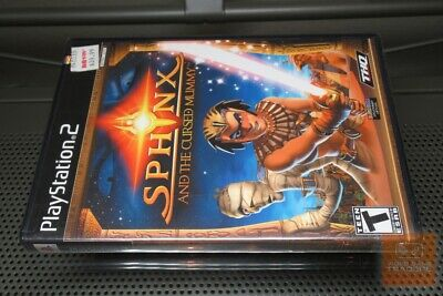 Sphinx and the Cursed Mummy (PlayStation 2, PS2 2003) FACTORY SEALED! - RARE!