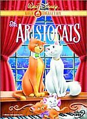 The Aristocats (DVD, 2000, Gold Collection) AUTHENTIC** LIKE NEW*FREE SHIP USA**