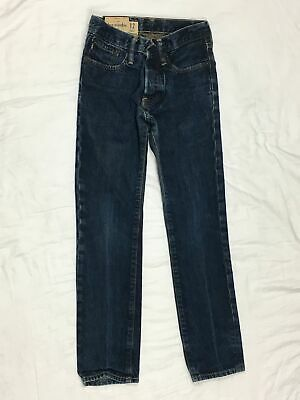 Abercrombie Fitch - Boys 12 Slim - Rollins Low Rise Skinny Button Fly Jeans