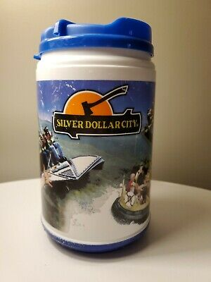 SILVER DOLLAR CITY 2009 SDC THEME PARK large Cup/Mug GRANDFATHERED For REFILLS