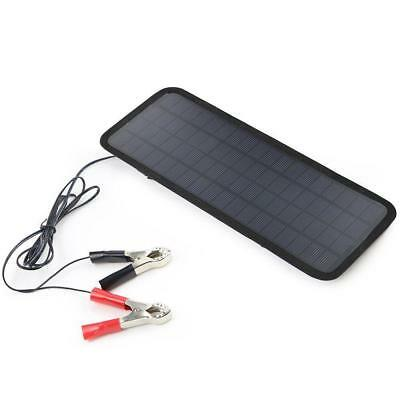 Solar Powered Car Auto Boat Motorcycle 12V Battery Maintainer Trickle Charger BC