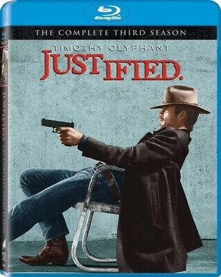 Justified: Season 3 [Blu-ray] still sealed Brand New! $0 shipping