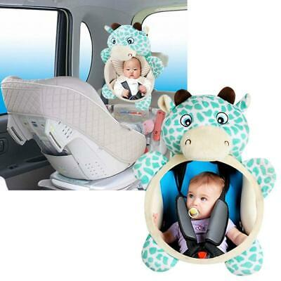 Safety Baby Mirror Car Back Seat Cover Rear Ward View Toys For Baby Kids Useful