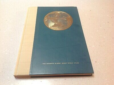 Readers Digest Great World Atlas. First Edition (Second Revise) 1962.