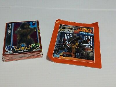 Star Wars - Force Attax Lot Of 27 card (Topps collector cards) inc. 5 foil cards