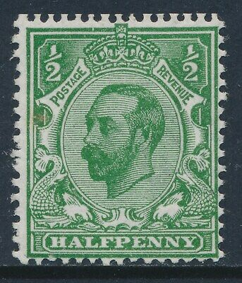 GB 1911 SG322 GREEN ½d MINT (MNH) Die 1A our ref GN3