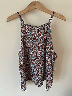 Girls New Look Age 12 Years Vest Top Floral Cami Cropped
