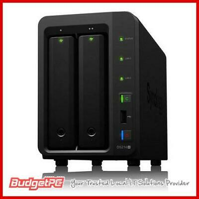 "Synology DiskStation DS718+ 2-Bay 3.5"" Diskless 2xGbE NAS"