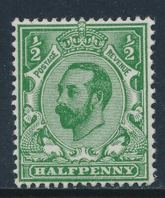 GB 1911 SG322 GREEN ½d MINT (MH/MM) Die 1A our ref GN6