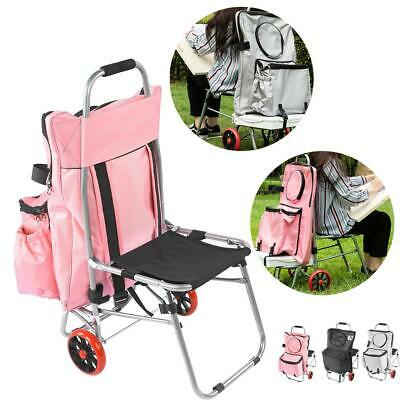 Portable Drawing Board Folding Chair Sketch Bag Painting Trolley Art Supplies