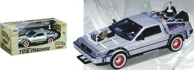 NEW Back To The Future 3 - 1:24 Scale Die-Cast Delorean Car from Mr Toys