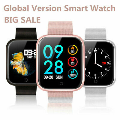 Global Version bluetooth Smart Watch Heart Rate P70 Amoled Sport Wristband