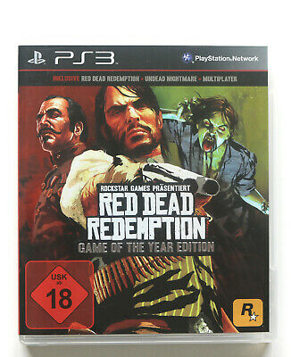 Red Dead Redemption - Game of the Year Edition - PlayStation 3 - PS3 - Sehr gut