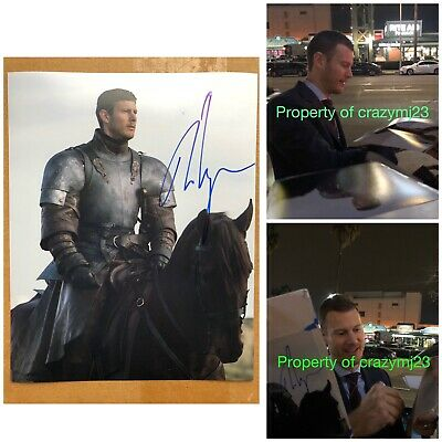 Tom Hopper Signed Game of Thrones  Dickon Tarly The Umbrella Academy Autograph