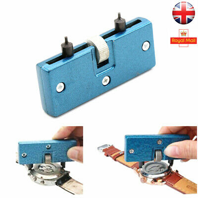 Watch Back Case Cover Opener Battery Change Remover Screw Wrench Repair Tool Kit